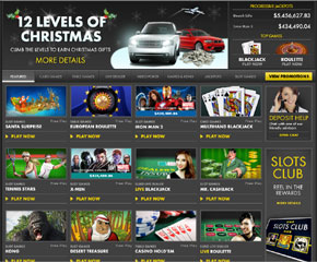bet365 casino lobby Christmas Bonus at Bet365 Casino